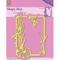 Cutting and embossing stencils, nature and level of the picture frame