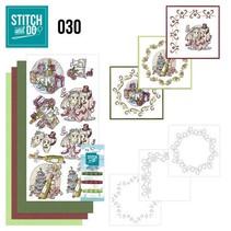Complet Bastelset voor het ontwerpen van 3 kaarten!