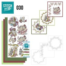 Komplett Sets / Kits Complet Bastelset for designing 3 cards!