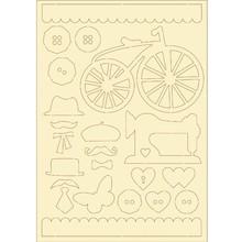 Pronty cartone morbido, 22er vintage set