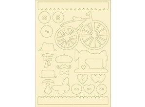 Pronty Blød pap, 22er Set vintage