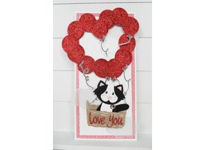 Marianne Design Cutting and embossing stencils Marianne Design Collectables - Balloons
