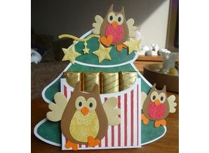 Marianne Design Stamping and embossing folder, Owl