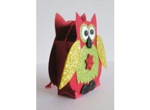 Marianne Design Estampado y carpeta de grabación en relieve, Owl