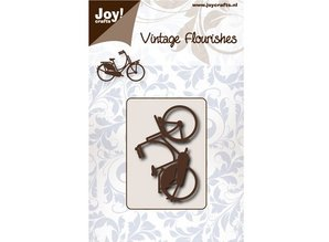 Joy!Crafts und JM Creation Punching and embossing template: bike
