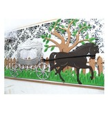 Marianne Design Stempling og prægning stencil, Carriage