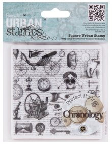 Docrafts / Papermania / Urban Rubber stamp, issue: Chronology