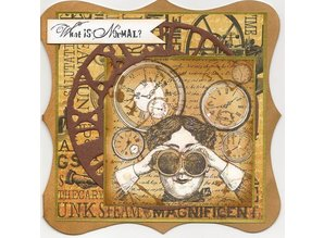 Docrafts / Papermania / Urban Gummi stempel, problem: Kronologi