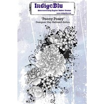 Rubber stamp, Peony Posey