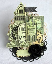 Pronty Cardstock from Kaisercraft: 75 Cents