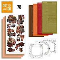 Complete Bastelset: Dot and Th 78, Vintage