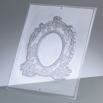 Relief Shape: Oval frame
