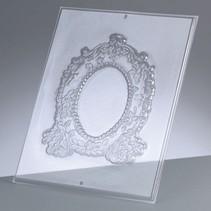 Reliefform: Rahmen oval