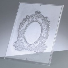 GIESSFORM / MOLDS ACCESOIRES Reliefform: Rahmen oval