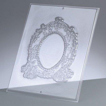 GIESSFORM / MOLDS ACCESOIRES Forma de relieve: Marco oval