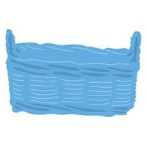 Stempling og prægning stencil, Basket