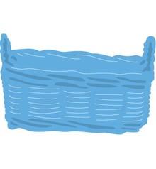 Marianne Design Stempling og prægning stencil, Basket