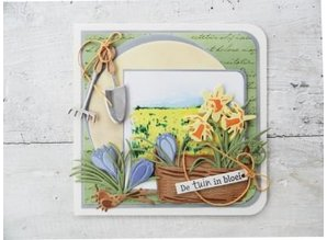 Marianne Design Stamping and embossing stencil, Basket