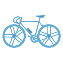 Punching and embossing template, bike