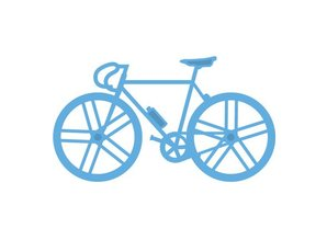 Marianne Design Stansning og prægning skabelon, cykel