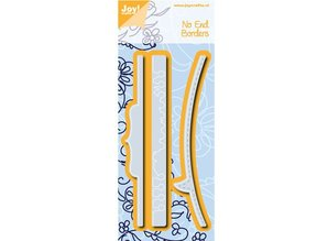Joy!Crafts und JM Creation Punching and embossing template, 3 different borders