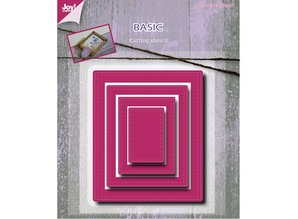 Joy!Crafts und JM Creation Punching and embossing template, Basic Mery rectangle
