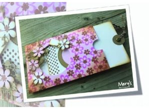Joy!Crafts und JM Creation Punching and embossing template, Basic Mery around