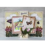 Marianne Design Stansning og prægning skabelon, tulipan