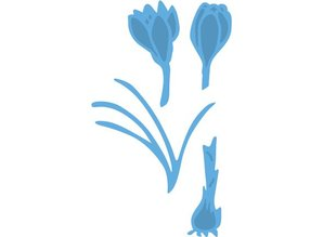 Marianne Design Stamping and embossing stencil, Crocus