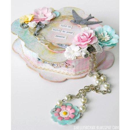 Embellishments / Verzierungen 6 antique metals ornaments