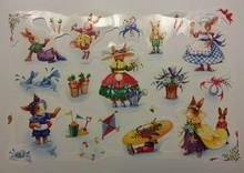 BILDER / PICTURES: Studio Light, Staf Wesenbeek, Willem Haenraets Bilderbogen, scraps, theme: cute little bunny