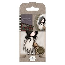 Mini stamp, Santoro no. 8: I love you little rabbit