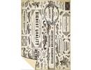 DESIGNER BLÖCKE  / DESIGNER PAPER Card stock Vintage Labels