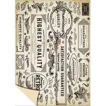 Karton Vintage Labels