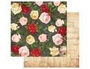 Designer Papier Scrapbooking: 30,5 x 30,5 cm Papier papel del diseñador, 30,5 x 30,5 cm, Bo Bunny Julieta
