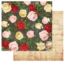 Designer Papier Scrapbooking: 30,5 x 30,5 cm Papier carta Designer, 30,5 x 30,5 cm, Bo Bunny Juliet