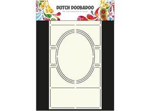 Schablonen und Zubehör für verschiedene Techniken / Templates Template: Card Art Swing card
