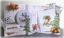 Schablonen, für verschiedene Techniken / Templates Skabelon: Card Art Swing kort
