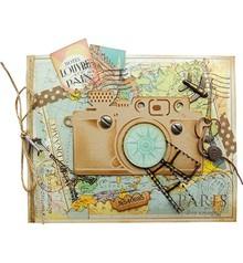 Marianne Design Stampaggio e goffratura cartella, macchina fotografica