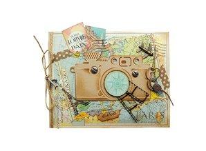 Marianne Design Stempling og prægning mappe, kamera