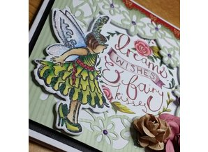 TONIC Stamp + fits to stamping and embossing stencil