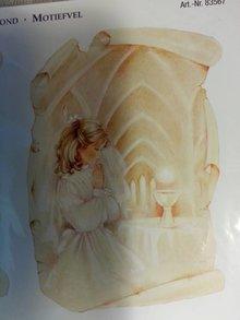 BILDER / PICTURES: Studio Light, Staf Wesenbeek, Willem Haenraets Baggrund sløjfe + afskårne ark, tema: Communion / bekræftelse