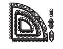 Marianne Design Troquelado y estampado en relieve plantilla: Craftables Caroussel
