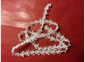 Lace Beadwork, approximately 2.5 cm x 2 x 1 mtr.
