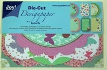 Joy!Crafts und JM Creation Design Block, Design Paper Die Cut, Butterfly