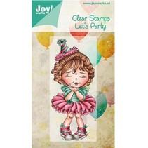 Gennemsigtige frimærker, Lad os Party