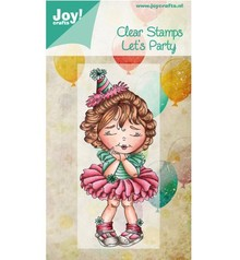 Joy!Crafts und JM Creation I timbri trasparenti, il partito di Let
