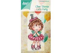 Joy!Crafts und JM Creation Gennemsigtige frimærker, Lad os Party