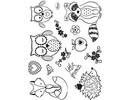 Stempel / Stamp: Transparent Transparent Stempel, Kleine Freunde