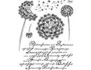 Viva Dekor und My paperworld Gennemsigtige frimærker, Löwenzahn